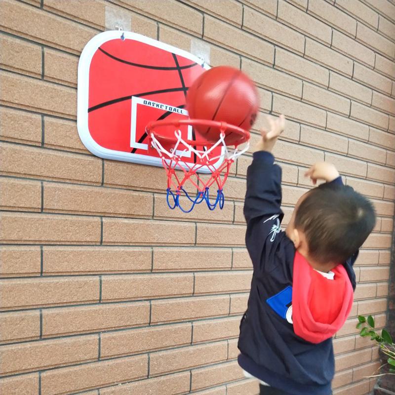 儿童篮球架免打孔挂式篮球框室内宝宝投篮玩具家用宿舍挂墙壁篮筐