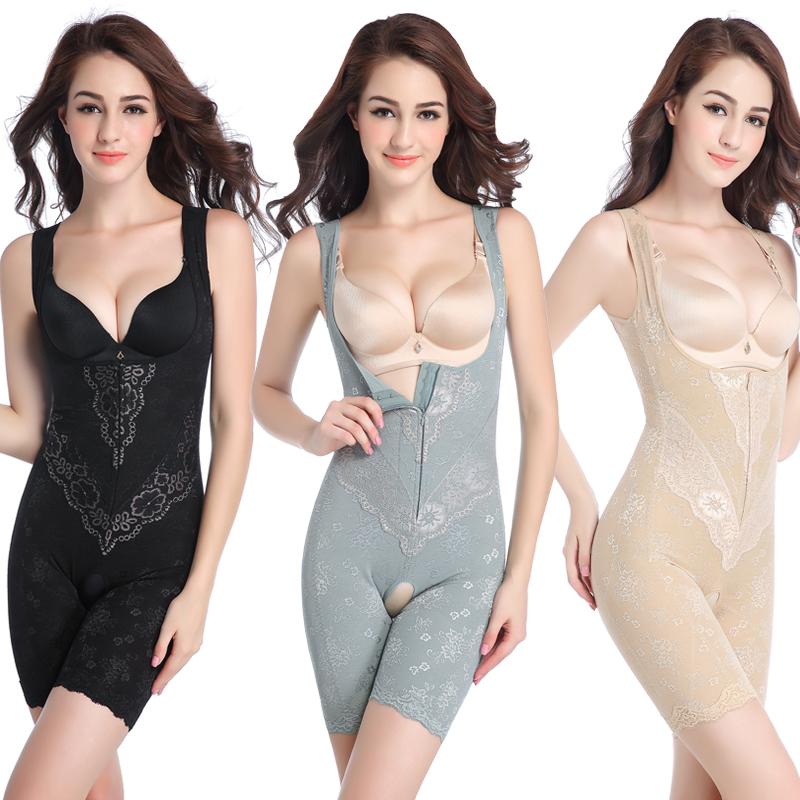 加强版产后塑形束缚无痕收腹束腰美体连体塑身内衣女