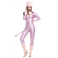 Christmas costumes studio shooting clothes one piece cat girl winter Snowman leather