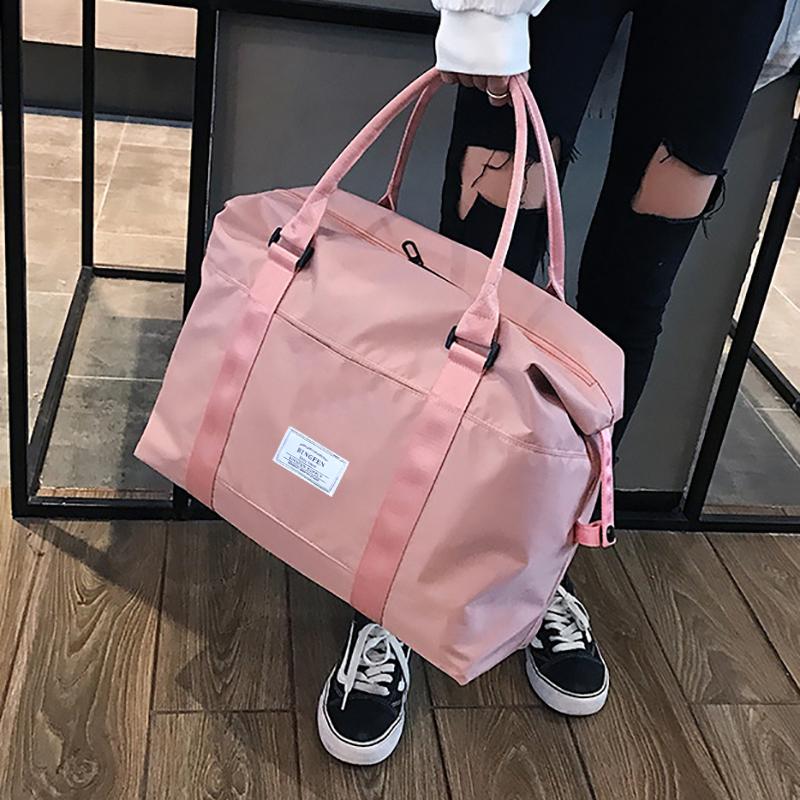 [¥28.9]旅行包女收纳手提大容量轻便出差旅游待产收纳袋男运动健身行李包