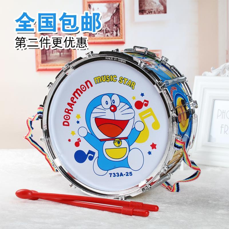 小鼓玩具儿童鼓打击乐器敲打鼓女孩宝宝手拍鼓婴儿玩具益智玩具鼓