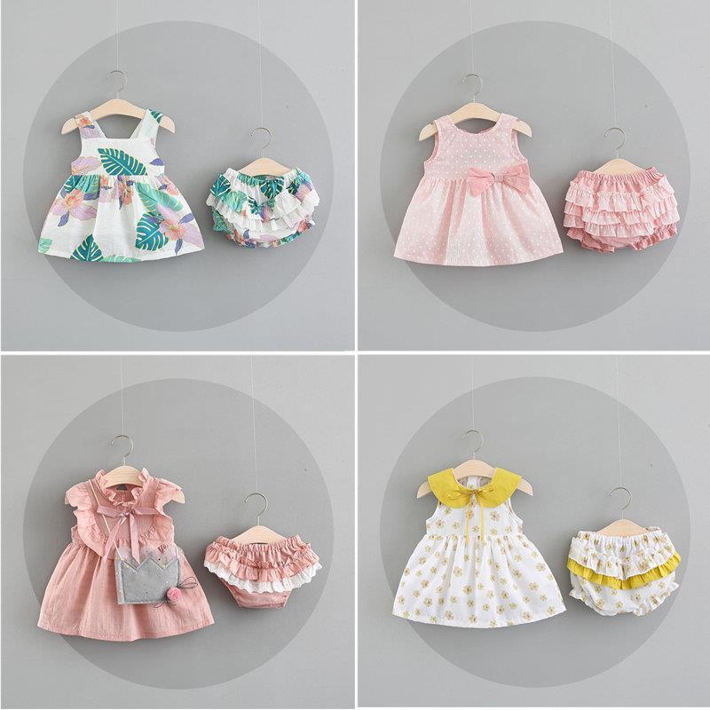 婴幼儿童夏装女童洋气连衣裙纯棉女宝宝裙子0-1-2-3岁公主裙