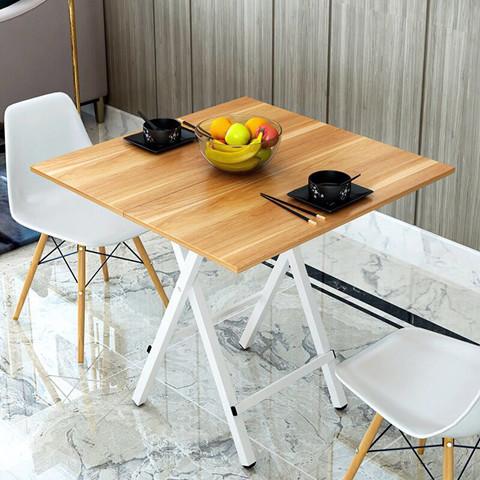 可折叠简易家用户外小户型饭餐桌摆摊出租屋便携式麻将吃饭小桌子