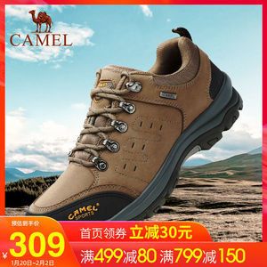 Camel outdoor hiking shoes for men 2019 winter hiking shoes non-slip wear-resistant cushioning casual sports shoes