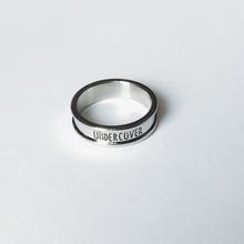 UCCOjx1ER 2cp潮原宿风光面银色简约字母食指环男女戒指尾戒饰品