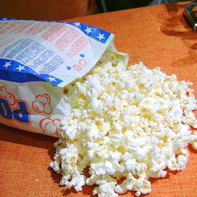 微波爆米花奶油甜味微波炉玉米花每包120克10包包邮