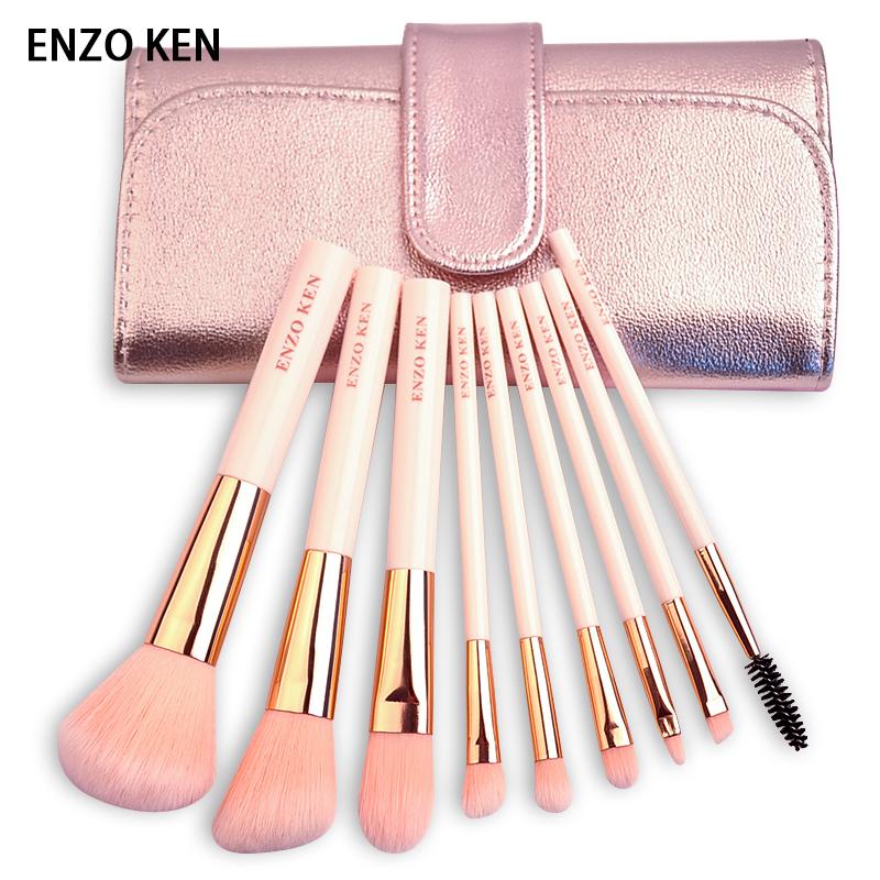 ENZOKEN化妆刷套装9支刷子初学者化妆套刷彩妆工具网红眼影刷全套