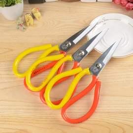 刀剪缝纫民用锰钢剪刀厨房家用皮革剪刀裁缝剪大头剪裁剪刀油锯