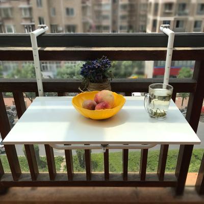 阳台栏杆悬挂桌折叠方便挂电脑桌家用小吧台创意升降书桌餐桌单人