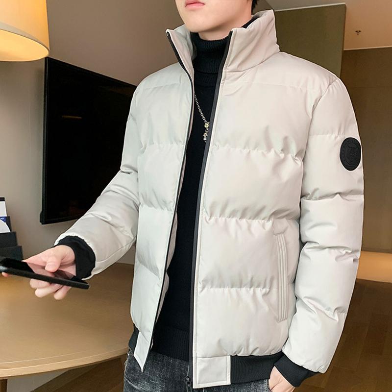 男士外套秋冬季2020新款韩版潮流短款棉袄青年男装加厚羽绒棉服男
