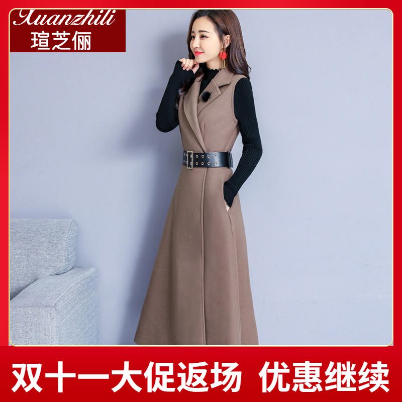 洋气系带连衣裙女中长款背带裙