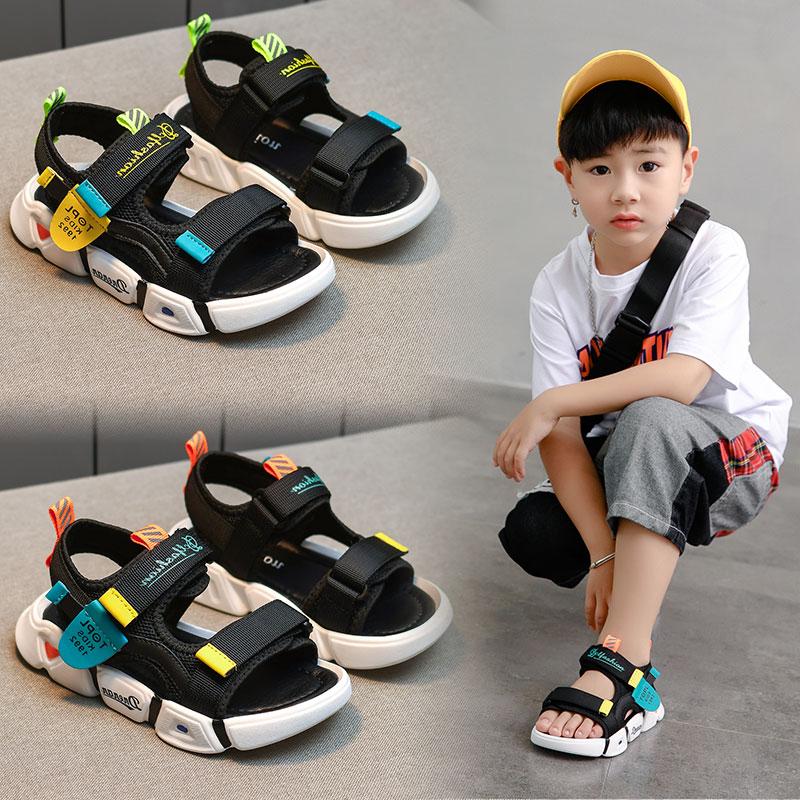 男童凉鞋中大童2020新款夏季沙滩鞋男孩软底防滑儿童宝宝小童鞋子