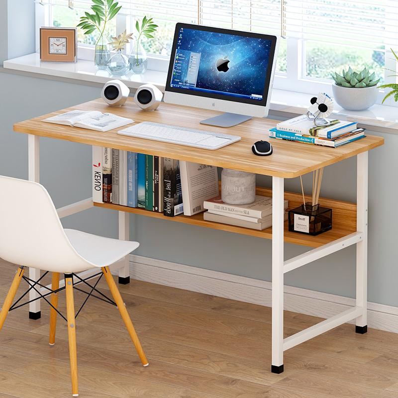 简易小桌子卧室简约书桌家用办公电脑桌台式桌学生宿舍学习写字桌