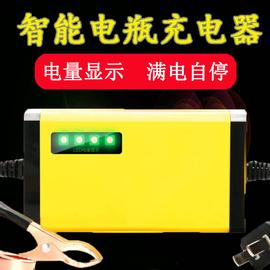 摩托车电瓶充电器12v充电器铅酸电瓶蓄电池通用12伏充电机通用型