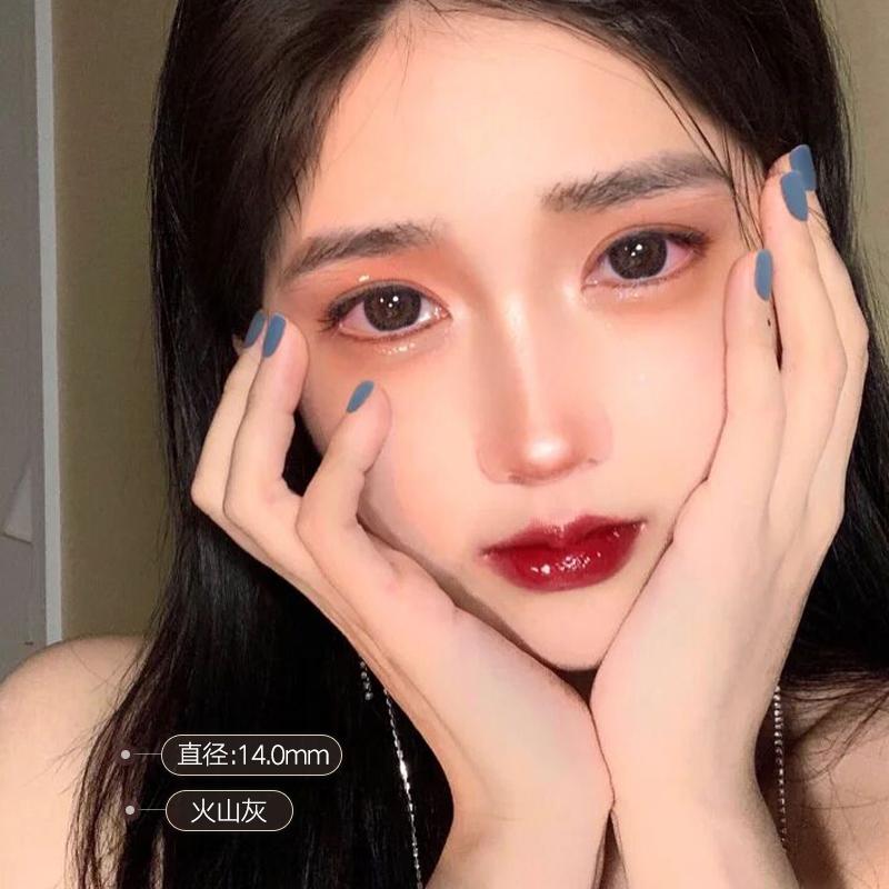 台湾原装Oivision网红美瞳半年抛女大小直径混血自然隐形近视眼镜