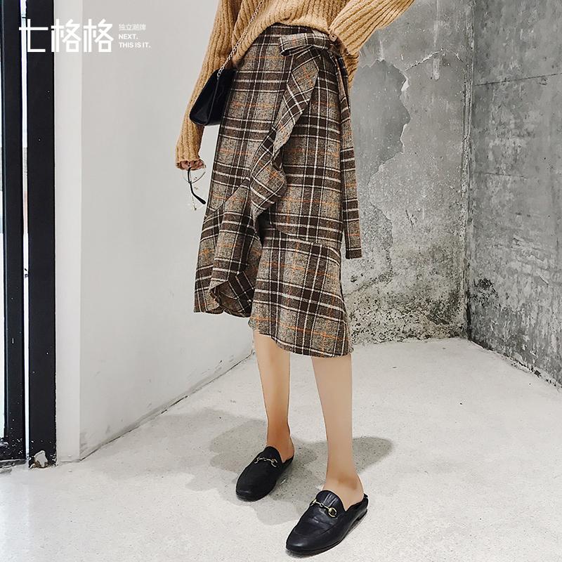 什么格子荷叶边短裙值得够买?什么格子荷叶边短裙性价比高?格子荷叶边短裙多少钱?