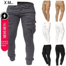 2018 new winter men s cotton casual pants men trousers jeans