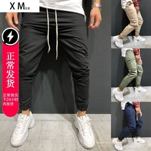 2019 Men sports casual pants hip-hop trousers fitness pants