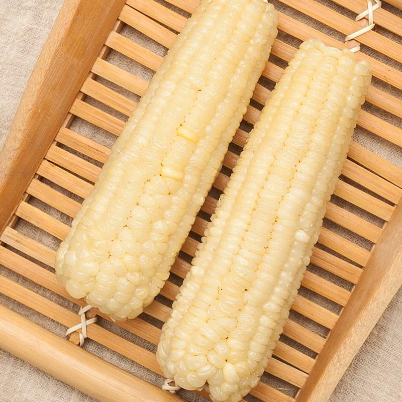 【8支装】新鲜黏玉米棒子东北粘玉米白糯玉米粘苞米即食甜糯玉。