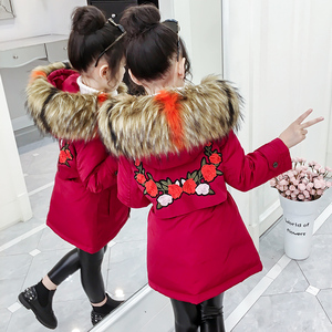 Children's clothing winter clothing 2019 new cotton padded jacket children's autumn and winter girls down cotton clothes foreign cotton jacket