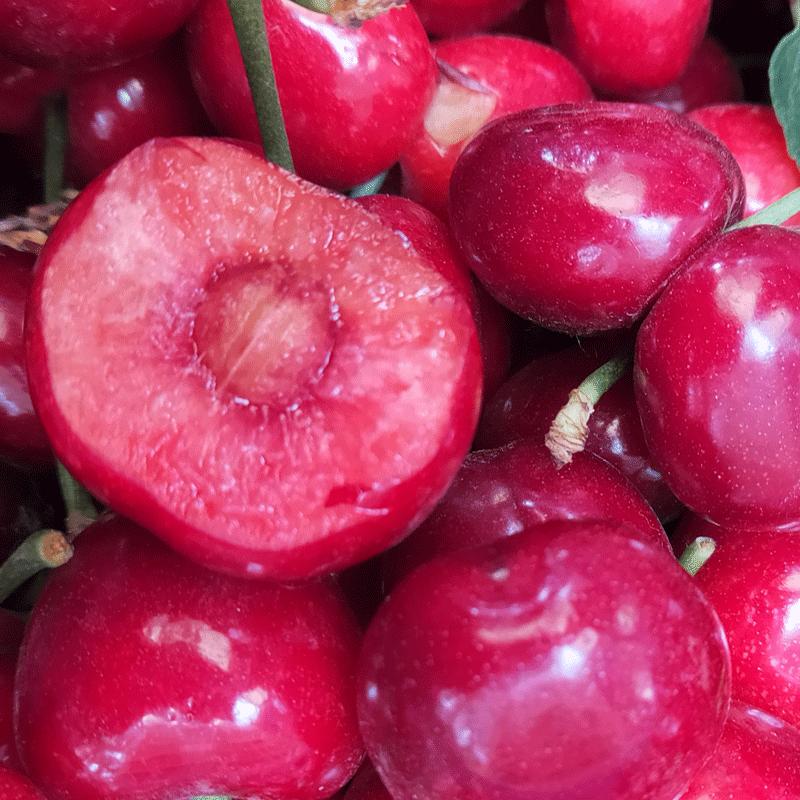 烟台大樱桃 山东车厘子新鲜水果吃货樱桃孕妇10应当季5斤装包邮