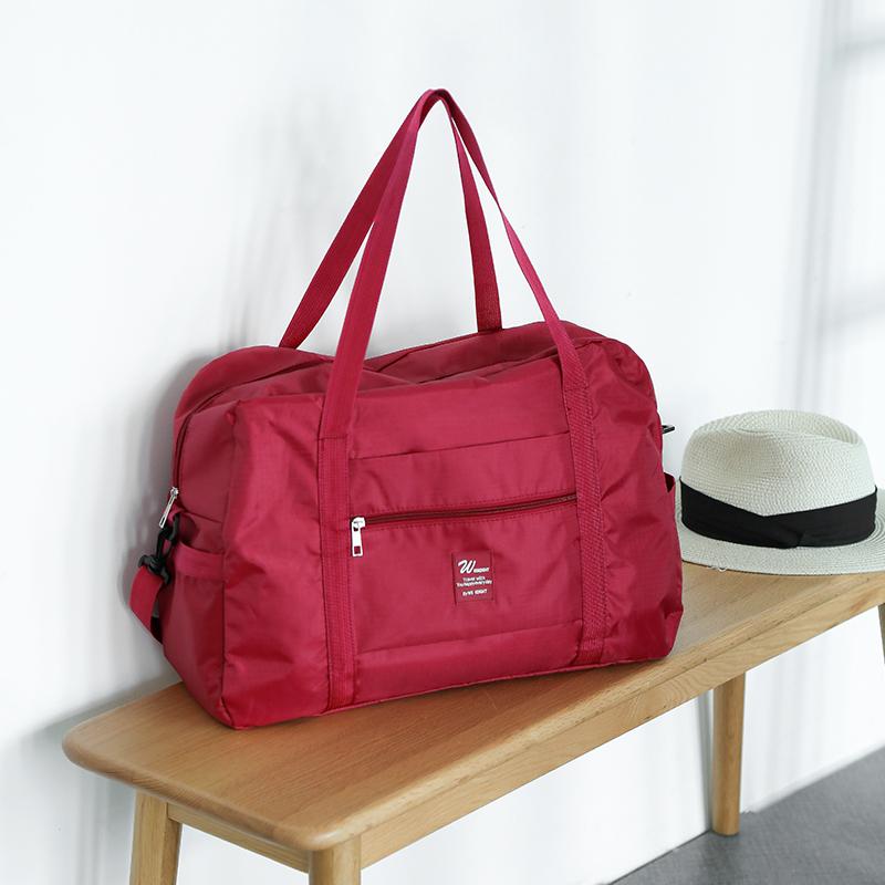 行李包拉杆旅行袋大容量轻便网红旅行包手提待产整理袋短途健身包