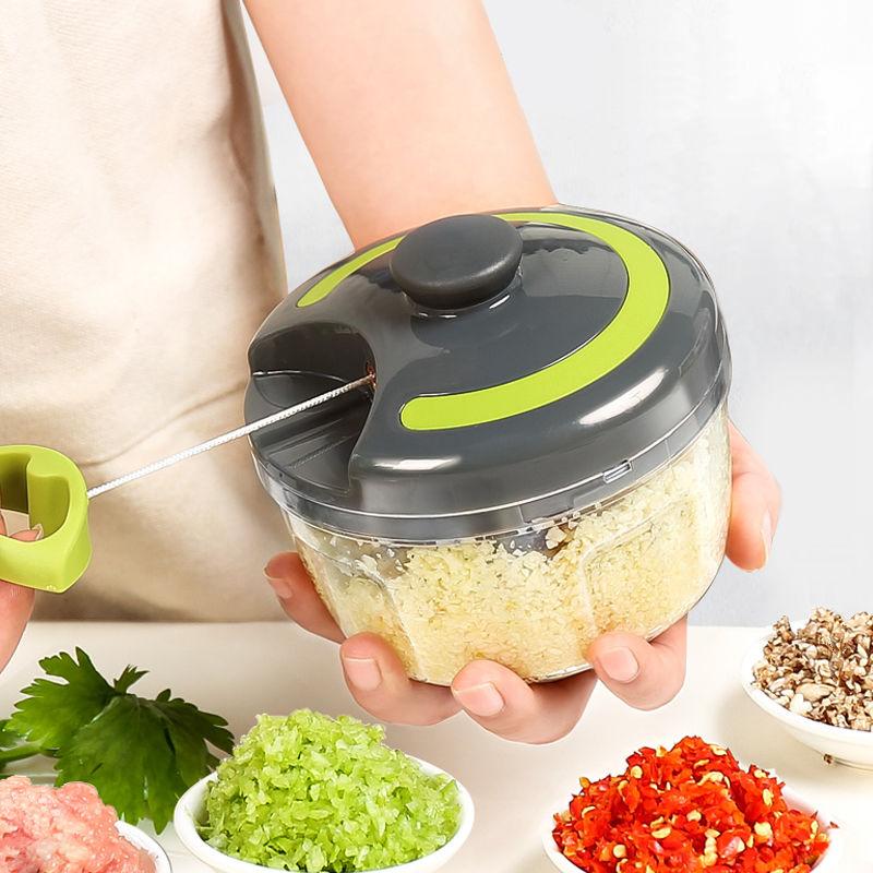 厨房蒜泥神器压捣蒜器手动绞肉机打蒜机姜末蒜泥器小型搅蒜器搅碎