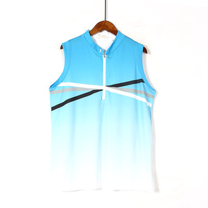 Casual Summer Ladies Sleeveless T-shirt Golf Clothing Short Sleeve Simple Loose Thin Vest Sports Ball Clothes