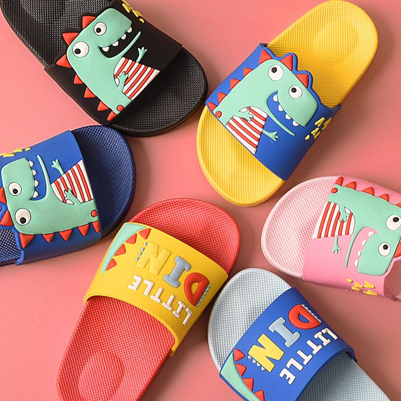 儿童拖鞋夏男女宝宝家居用亲子室内防滑软底可爱小孩婴幼儿凉拖鞋