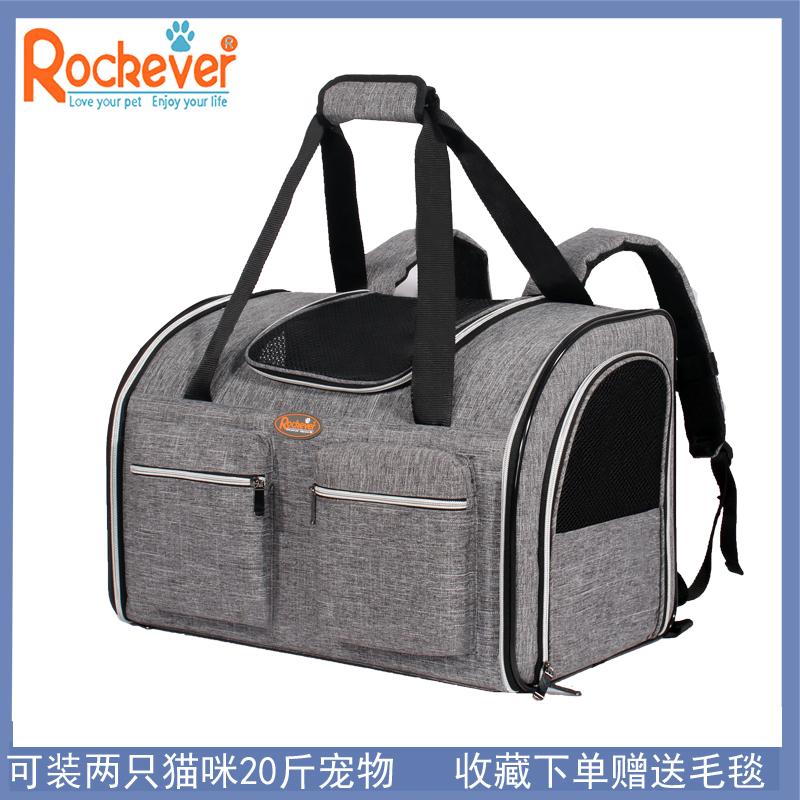 宠物外出包猫包双肩包手提猫咪外出便携包背狗包20斤大号狗包