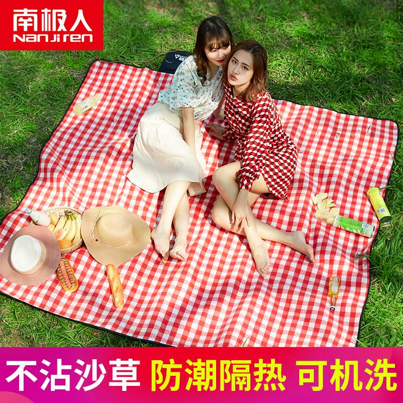 野餐垫户外野餐布ins风草坪垫子野外野炊防潮帐篷地垫便携加厚