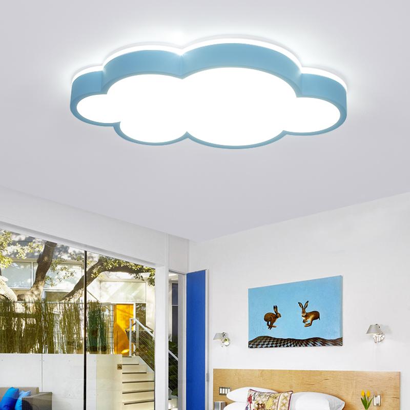 云朵led吸顶灯儿童房间卧室灯护眼现代卡通灯具智能灯光天猫精灵