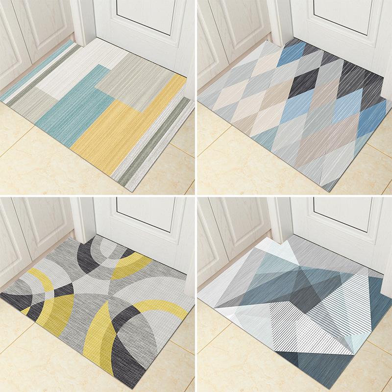 定制北欧地毯进门地垫吸水入户门口垫玄关门厅客厅厕所卫生间家用