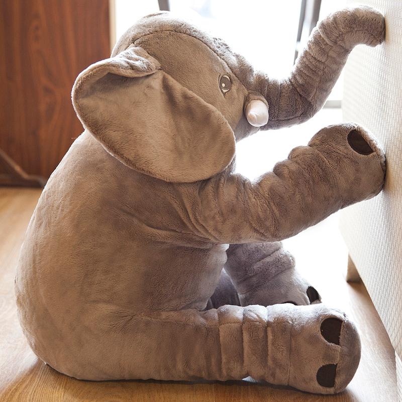 大象毛绒玩具公仔安抚抱枕宝宝睡觉娃娃玩偶儿童生日礼物可爱女孩