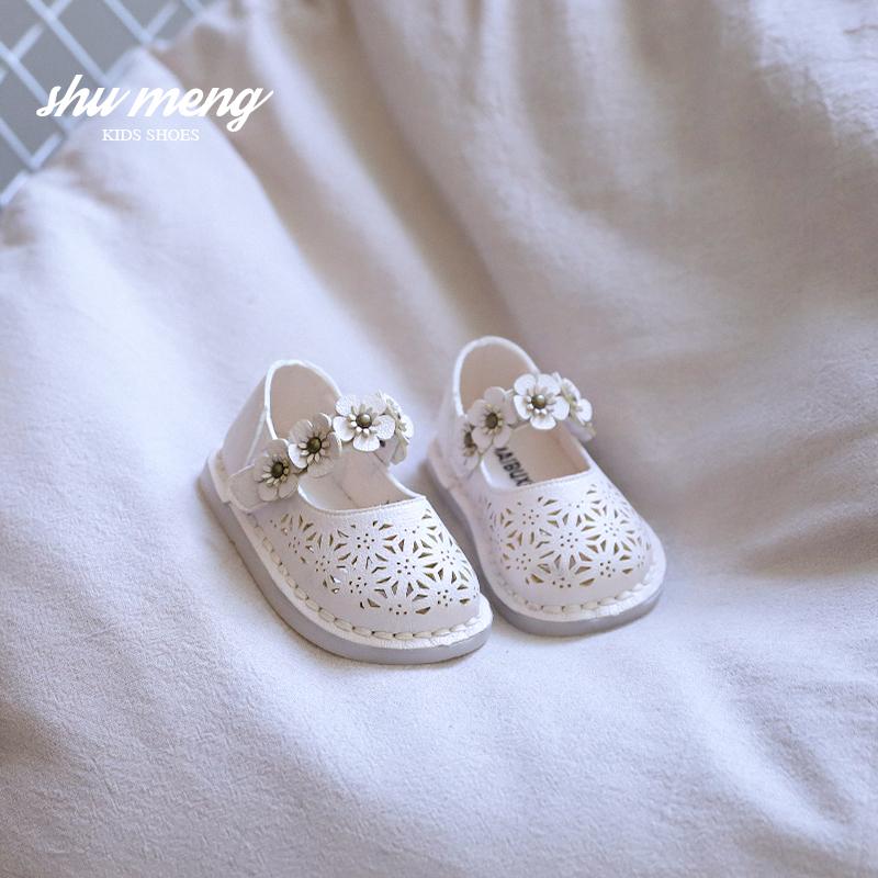 点击查看商品:女宝宝公主鞋小童小皮鞋1-3岁2婴幼儿学步鞋软底镂空半凉鞋春夏季