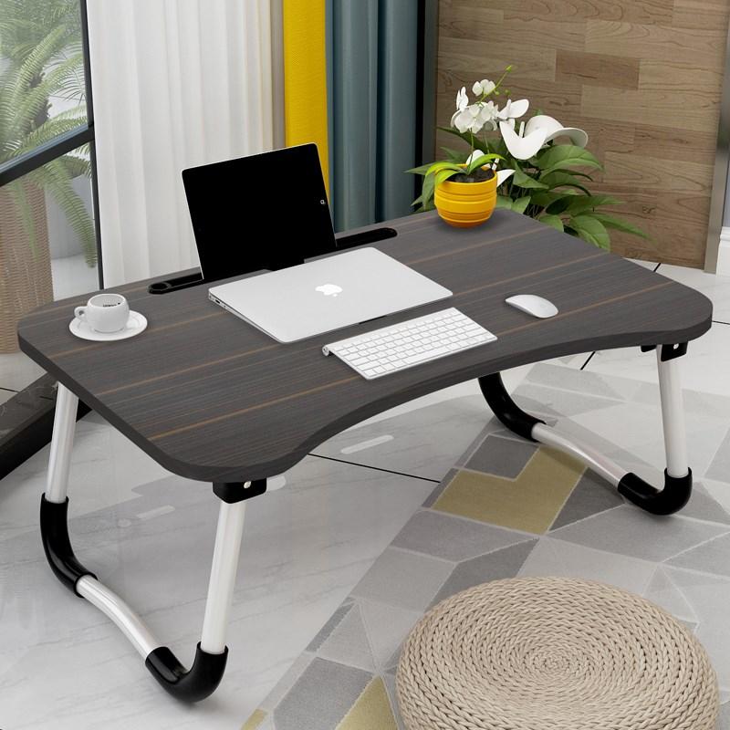 床上书桌折叠桌大学生懒人笔记本电脑桌简约多功能寝室小桌子宿舍