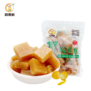 Tonglijia South Sour Jujube Cake 250g / bag Farmhouse Handmade Fujian Specialty Casual Snack Jujube Products