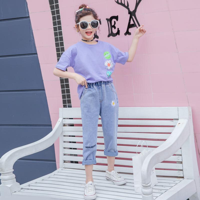女童套装夏装2020年夏季儿童装