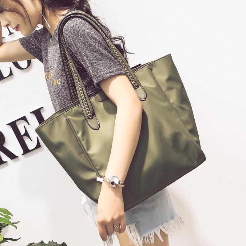 韩国2019新款牛津布手提包女大容量大包包夏季韩版单肩包通勤休闲