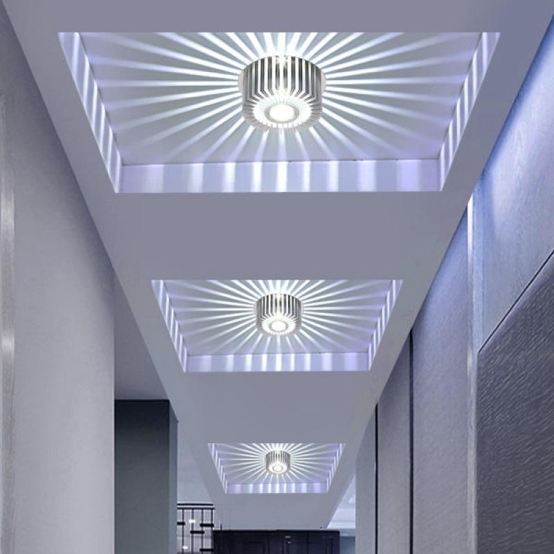 简约现代铝材孔灯射灯led天花灯筒灯过道灯门厅灯走廊灯玄关灯