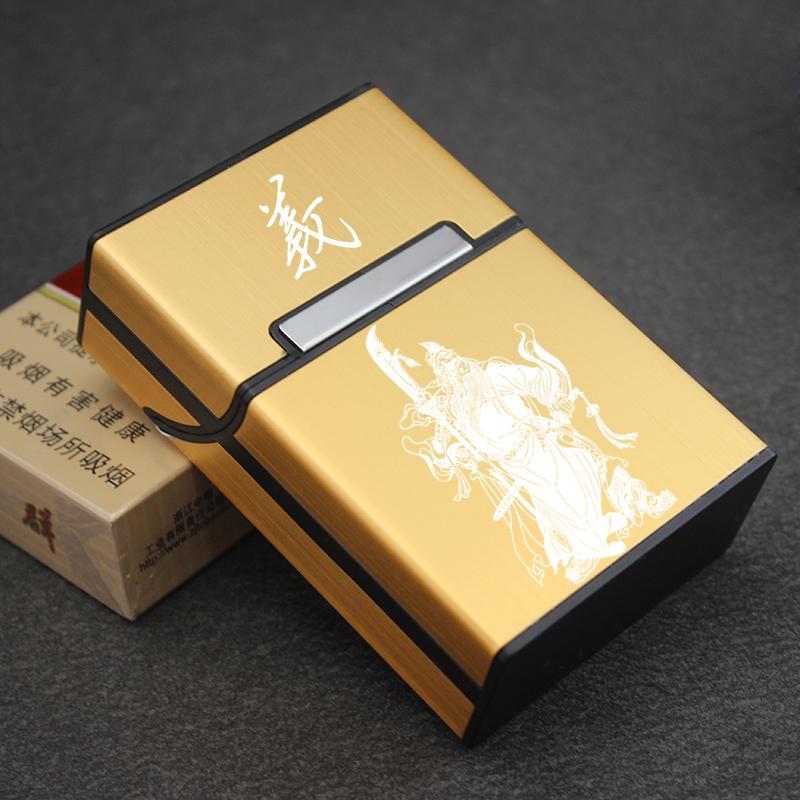 香烟盒创意个性烟盒20支装超薄便携翻盖塑料简约香菸盒防压男士