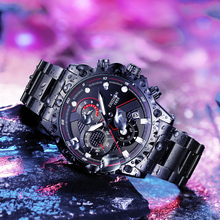2019 new watch, men's automatic fashion trend, student's watch, water-proof, mechanical, electronic, sports, luminous
