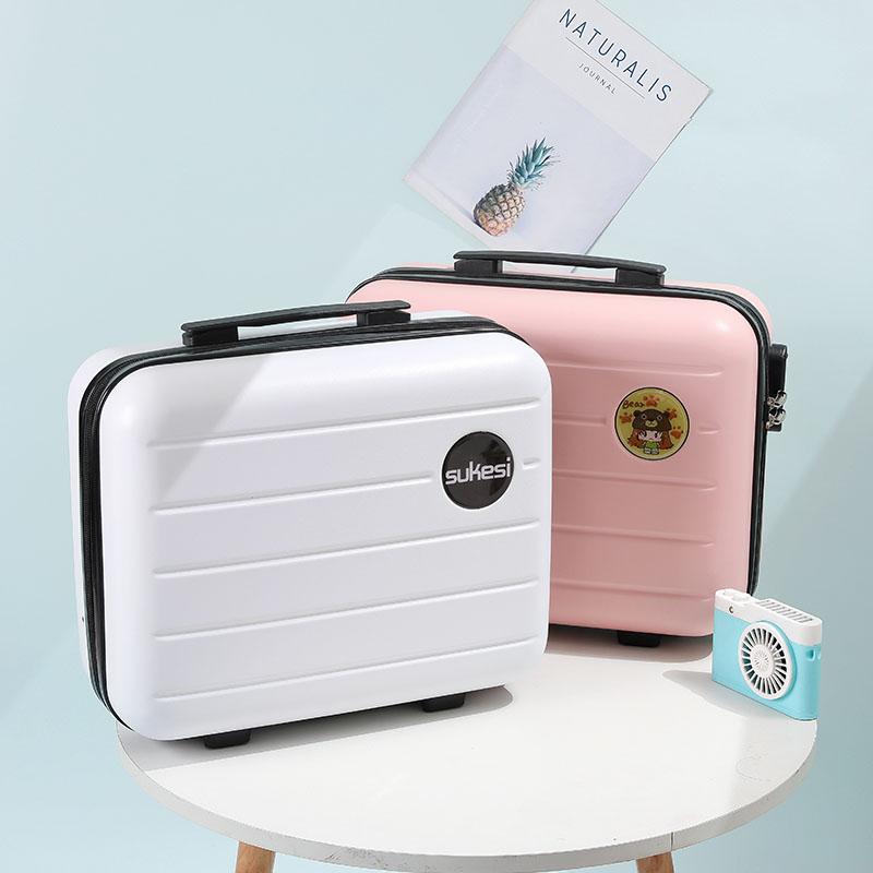 14寸化妆箱手提箱韩版旅行箱收纳洗漱包旅行小行李箱大容量16寸