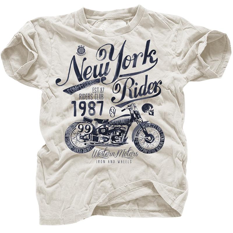 阿美咔叽美式复古日系重磅纯棉摇滚机车T恤短袖男欧美朋克街头TEE图片
