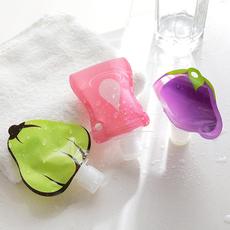 软包装便携式装洗发水的瓶子旅行沐浴露洗手液乳液分装瓶洗手液瓶