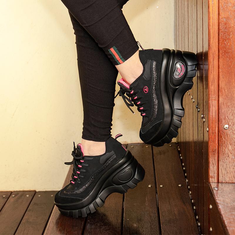 登山鞋女领舞者秋冬运动正品防水防滑耐磨女户外鞋增高厚底徒步鞋