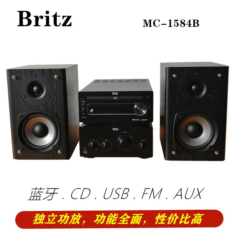 出口韩国品牌蓝牙CD组合音响台式家用迷你型套装HIFI有源音箱清仓