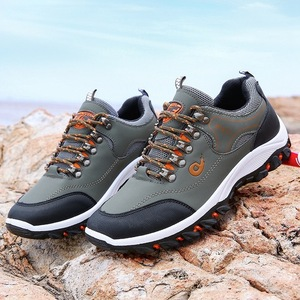 Men's outdoor hiking shoes 2019 autumn and winter sports shoes casual travel shoes men's waterproof non-slip low-top men's shoes