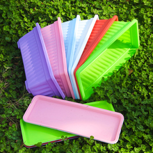 阳台种菜盆长方形花盆塑料花ww10树脂花ou菜种花通用