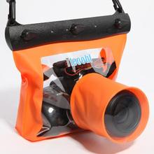 20米单反相机防水li6 潜水游an沙 指套快门 相机袋T-518L